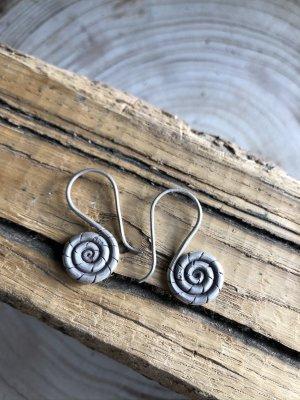 Handmade Dangle silver-colored