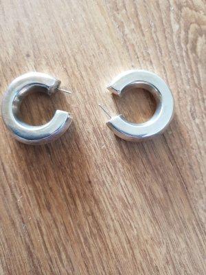Kolczyk ze sztyftem srebrny