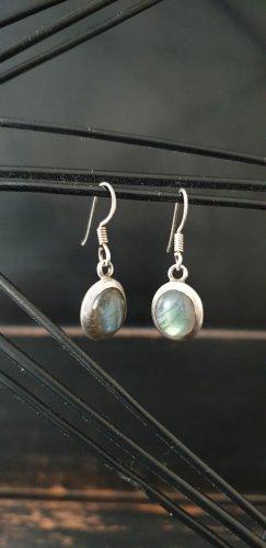 Ohrringe Silber / Labradorit