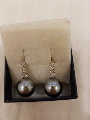 Ohrringe Silber mit Zirkonia Steine