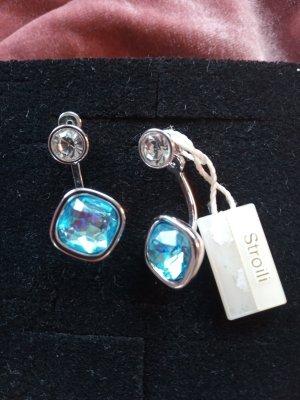 Stroili Zilveren oorbellen veelkleurig