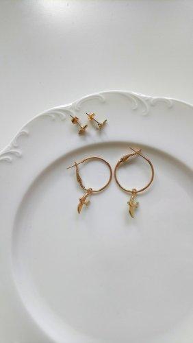 Ohrringe und Creolen mit Schwalben