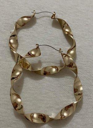 Vintage Pendant d'oreille doré