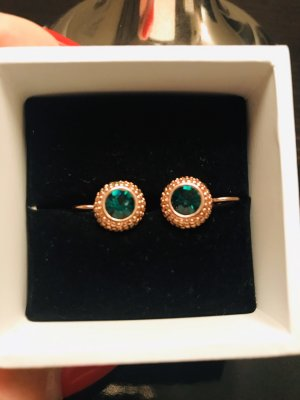 Gold Earring gold-colored-forest green