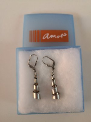 amor Silver Earrings silver-colored