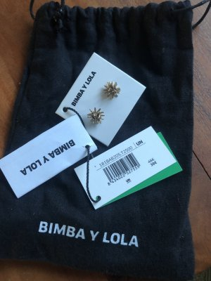 Bimba & Lola Kolczyk ze sztyftem złoto