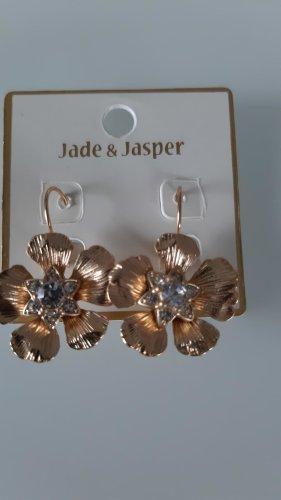 Ohrringe von jade und jasper