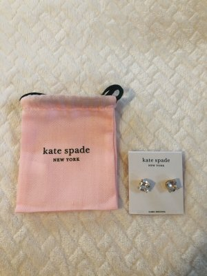 Kate Spade Earclip gold orange-white