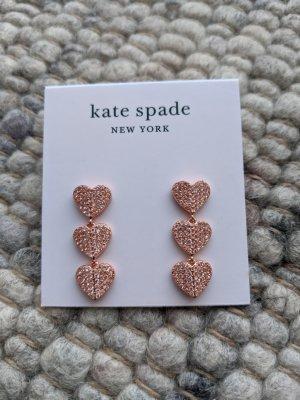 Ohrringe von Kate Spade, Roségold, Ohrhänger