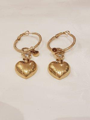 Pierre Lang Pendientes de oro blanco-color oro