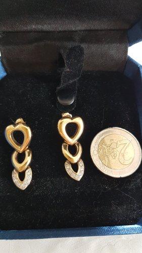 Ohrringe von PL mit  Swarovski Steine