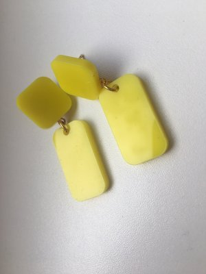 Statement Earrings neon yellow