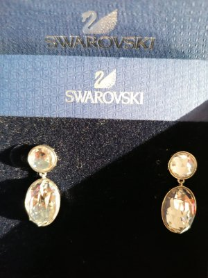 Ohrringe von Swarovski in Silber
