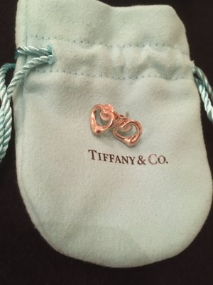 Tiffany&Co Zarcillo color plata