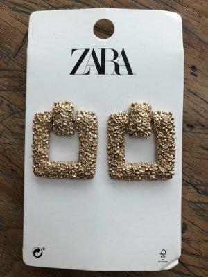 Zara Pendant d'oreille doré métal