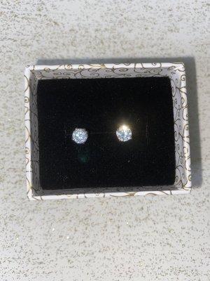 Silver Earrings silver-colored metal