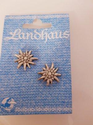 Landhaus Clou d'oreille argenté