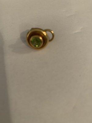 Einzelstück Clip d'oreille vert olive