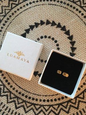 Luamaya Zarcillo color oro