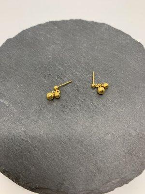 Ohrstecker silber 925 neu gold