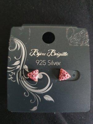 Bijou Brigitte Ear stud silver-colored-pink