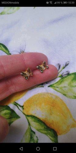 Ohrstecker von Pandora, Schmetterling, gold