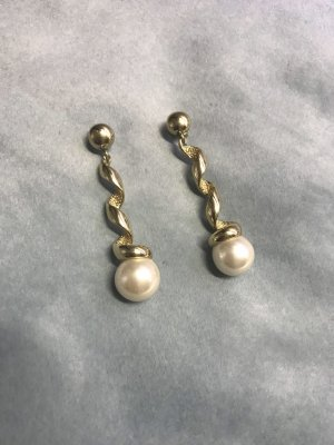 Pierre Lang Ear stud white-gold-colored