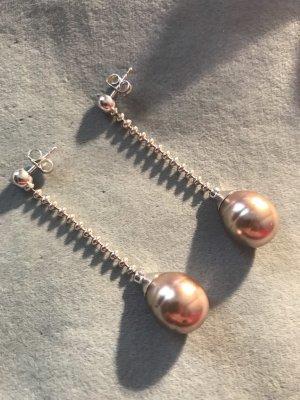Pierre Lang Orecchino di perle argento-color oro rosa
