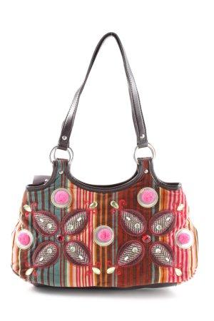 Oilily Handtasche Streifenmuster extravaganter Stil