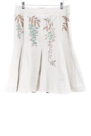 Oilily High Waist Rock florales Muster extravaganter Stil