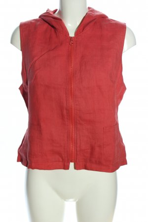 Oilily Kapuzenweste rot meliert Casual-Look
