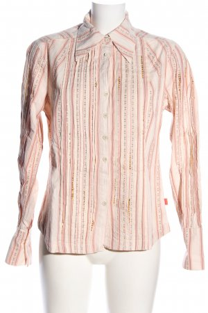 Oilily Langarmhemd nude Allover-Druck Casual-Look
