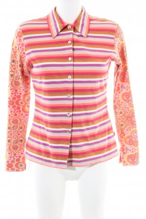 Oilily Langarmhemd abstraktes Muster Casual-Look
