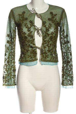 Oilily Marine jack khaki bloemenprint elegant