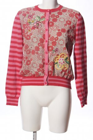 Oilily Rundhalspullover abstraktes Muster Casual-Look