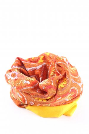 Oilily Tube Scarf primrose-light orange mixed pattern casual look