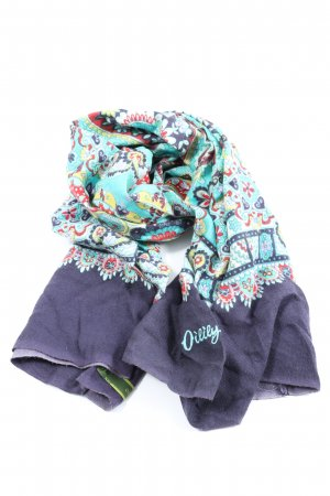 Oilily Strickschal abstraktes Muster Casual-Look