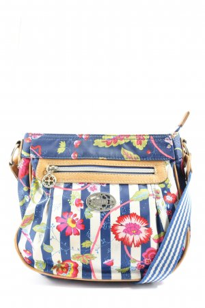 Oilily Schultertasche Blumenmuster Casual-Look