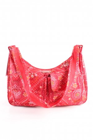 Oilily Schultertasche Allover-Druck Casual-Look