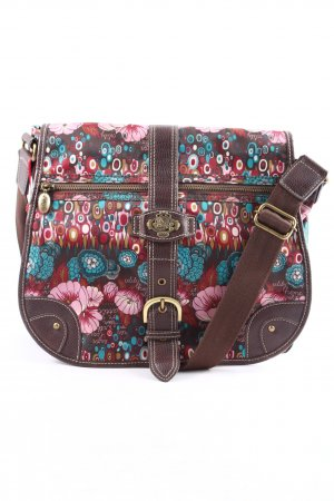 Oilily Schultertasche Motivdruck Casual-Look