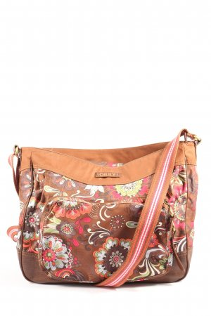 Oilily Canvas Bag abstract pattern casual look