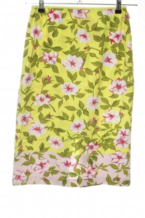 Oilily Stretchrock Blumenmuster Casual-Look