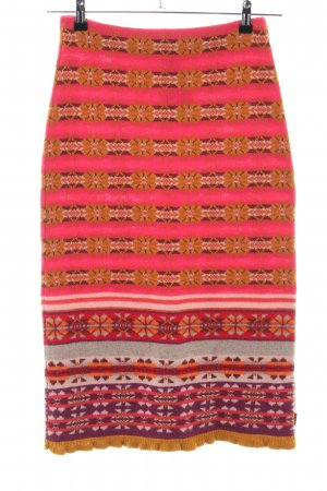Oilily Knitted Skirt graphic pattern business style