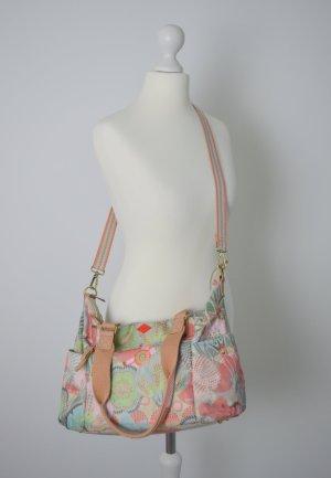Oilily Tasche buntes Muster pastell Blumen Umhängetasche Handtasche