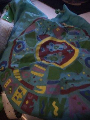 Oilily Mini sac à dos bleu clair