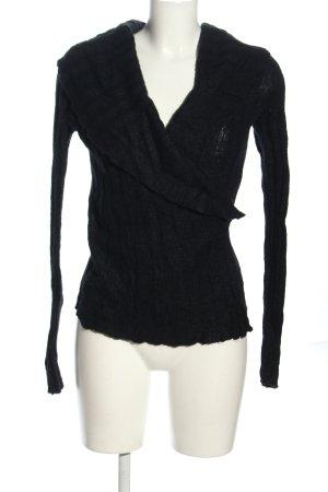 Okanagan Scaldacuore in maglia nero stile casual