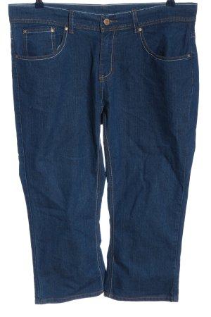 okay Jeans 3/4 bleu style décontracté