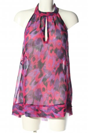 okay Sleeveless Blouse abstract pattern party style