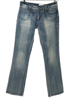 okay Boot Cut Jeans blau Casual-Look