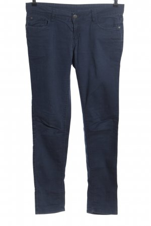okay Five-Pocket-Hose blau Casual-Look